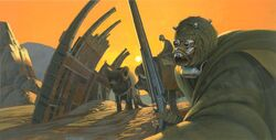 Sand peoples by McQuarrie