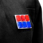 Rank insignia black
