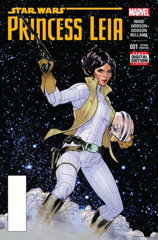 File:Star Wars Princess Leia Vol 1 1 2nd Printing Variant.jpg