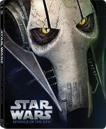 Star Wars Episode III Revenge of the Sith Blu-ray Steelbook