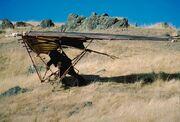 Ewok hang glider