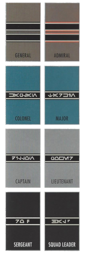 First Order Rank Insignia