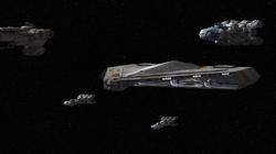 Rebel fleet TFD