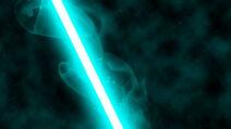 Teal lightsaber by nerfavari-d51snwf