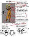 Hera Costume Diagram