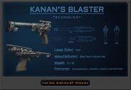 Kanan's Blaster