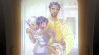 Ezra's parents!