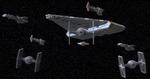 Rebel escort carrier