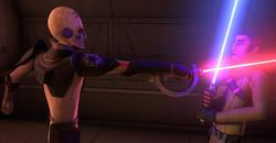 Inquisitor Fights Kanan