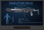 DisruptorRifle stats