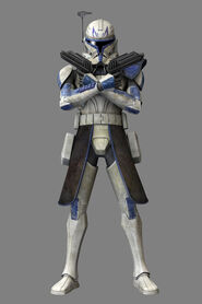 Captain Rex in Phase 2 Armor