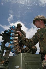 Grenade rounds belt