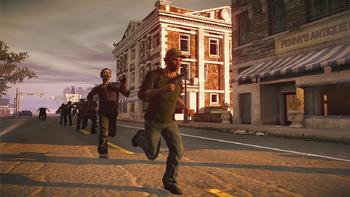 Survivor running