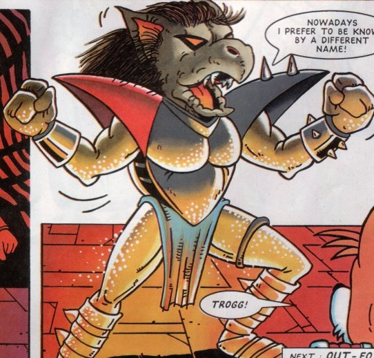 Zachary The Hedgehog Trogg   Sonic the Comi...