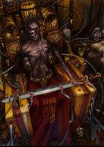 40 k emperor by DESTRAUDO