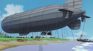 Kiki's Delivery Service - the airship