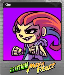 Big Action Mega Fight! Foil 5