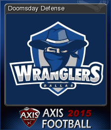 Axis Football 2015 Card 8
