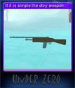 Under Zero Card 5