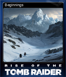 Rise of the Tomb Raider Card 1