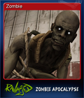 Ravaged Zombie Apocalypse Card 7