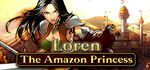 Loren The Amazon Princess Logo