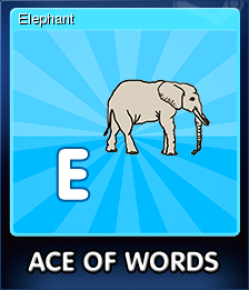Ace Of Words Card 5