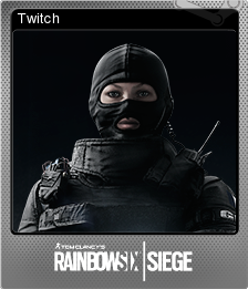 Tom Clancy's Rainbow Six Siege Foil 04