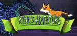 Rynn's Adventure Trouble in the Enchanted Forest Logo