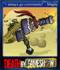 Death by Game Show Card 4