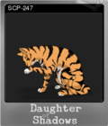 Daughter of Shadows An SCP Breach Event Foil 3