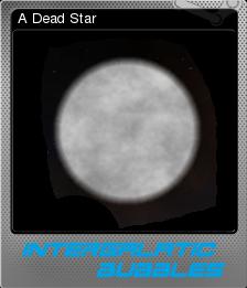 Intergalactic Bubbles Foil 5