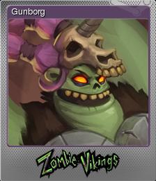 Zombie Vikings Foil 1