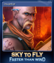 Sky To Fly Faster Than Wind Card 5