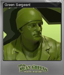The Mean Greens - Plastic Warfare Foil 04