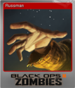 Call of Duty Black Ops II Zombies Foil 4