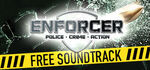 Enforcer Police Crime Action Logo