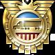 American Truck Simulator Badge Foil