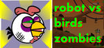 Robot vs Birds Zombies Logo