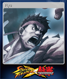 Street Fighter X Tekken Card 8