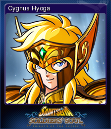 Saint Seiya Soldiers' Soul Card 2