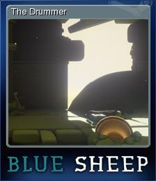 Blue Sheep Card 4