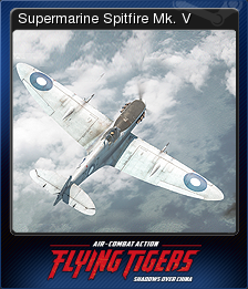 FLYING TIGERS SHADOWS OVER CHINA Card 1