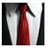 Hitman Absolution Emoticon Tie