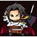 BlazBlue Chronophantasma Extend Emoticon Kagura