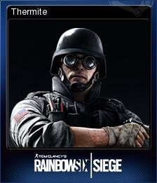 Tom Clancy's Rainbow Six Siege Card 02