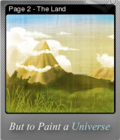 But to Paint a Universe Foil 06