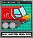 Machine Gun Train Run Foil 5