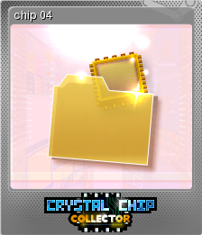 Crystal Chip Collector Foil 4