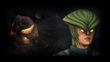 Asteroid Bounty Hunter Background Vega Power
